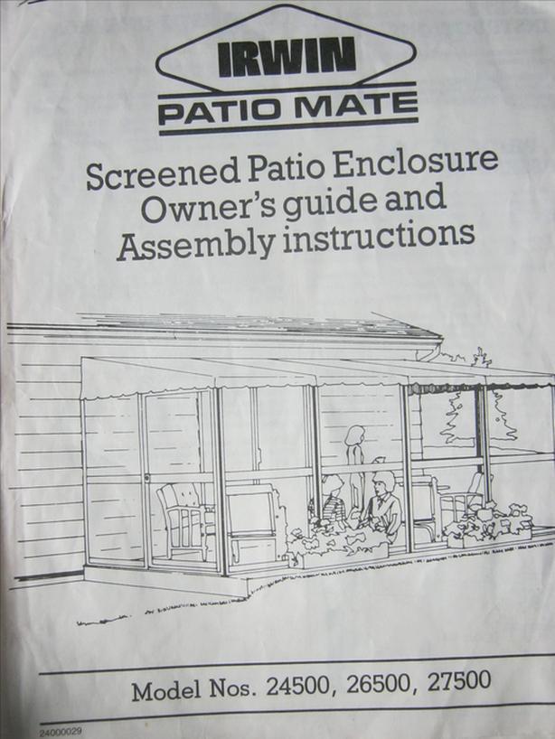 Screened Patio Enclosure / Gazebo for porch