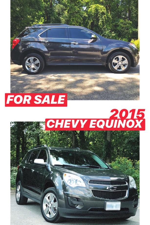 2015 Chevy Equinox - One Owner + Snow Tires on Rims!