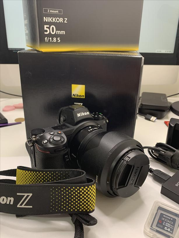 Nikon Z6 with 50mm 1.8s Package