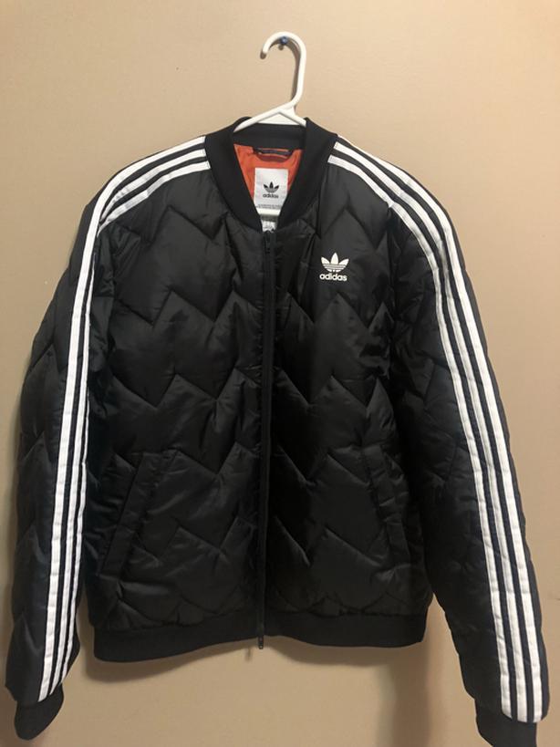 Black Adidas Jacket (Never worn, Brand new)
