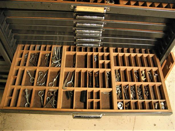 Typeset drawer (each - multiples are available)