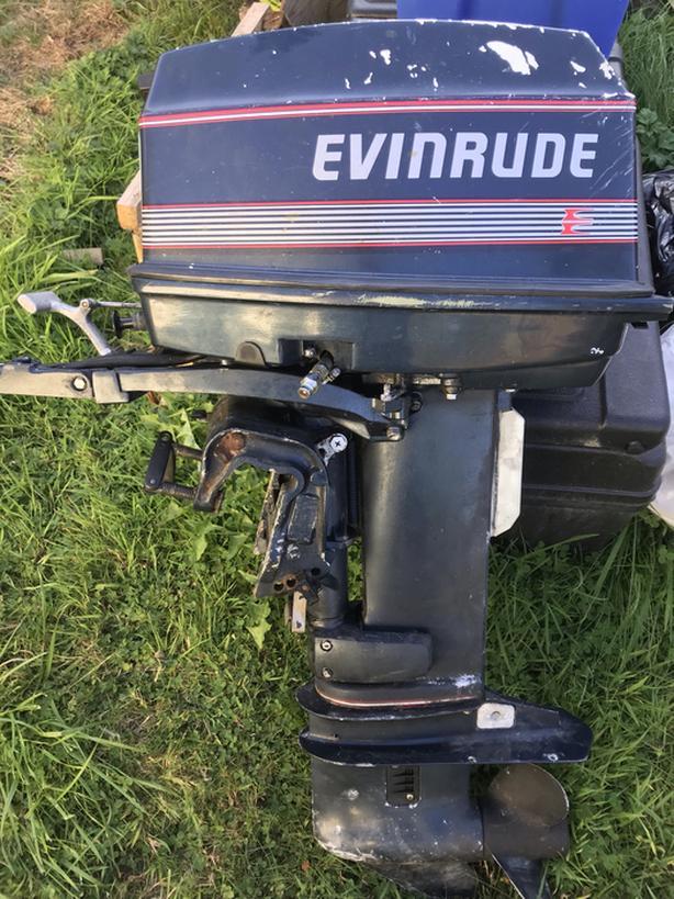 25HP Evinrude Outboard