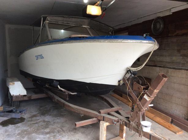 2008 Suzuki motor, boat & trailer