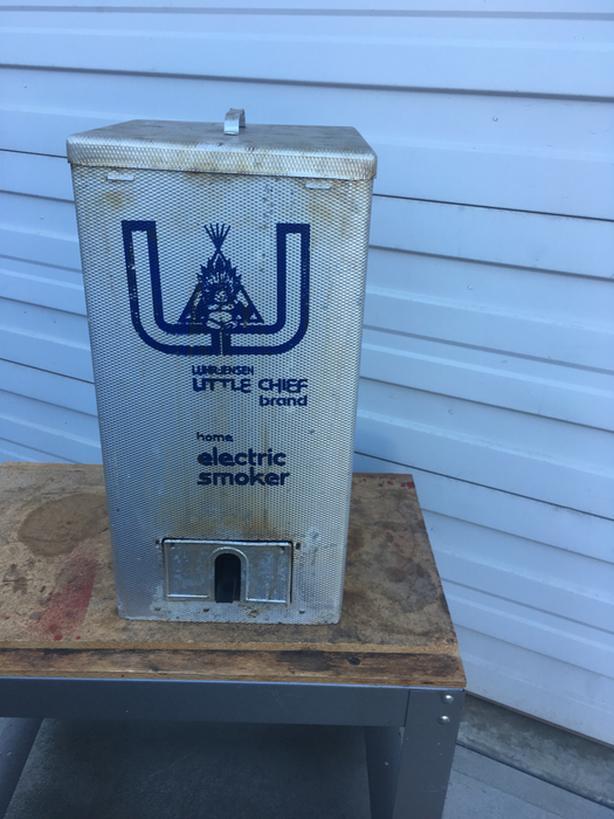 Little Chief Smoker