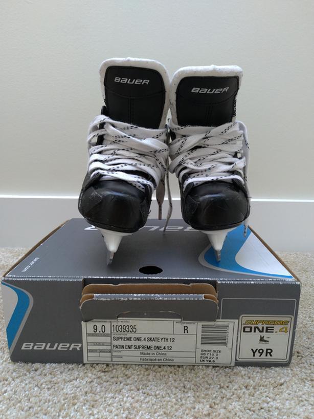 Bauer Supreme Hockey Skates - Child Size 9