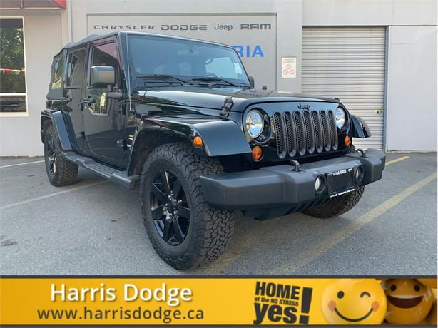 2012 Jeep Wrangler Unlimited Sahara Soft Top