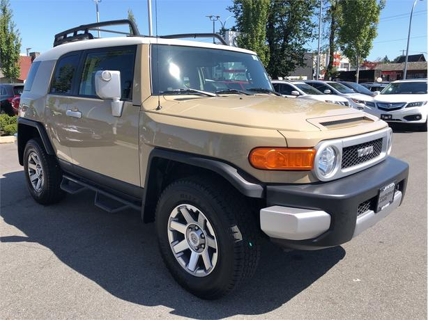 2014 Toyota FJ Cruiser Urban Package Local B.C. Service History