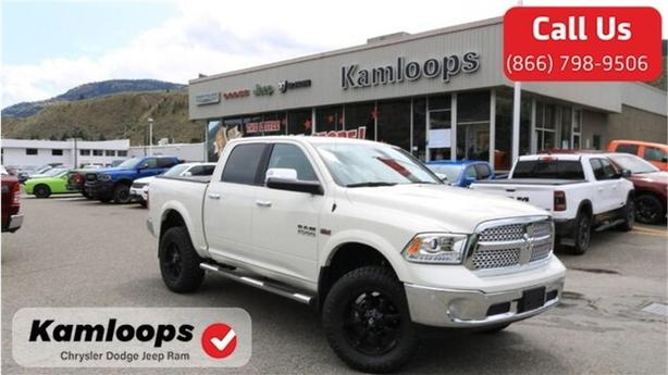 2018 Ram 1500 Laramie /Demonstrator//4x4//Sunroof/