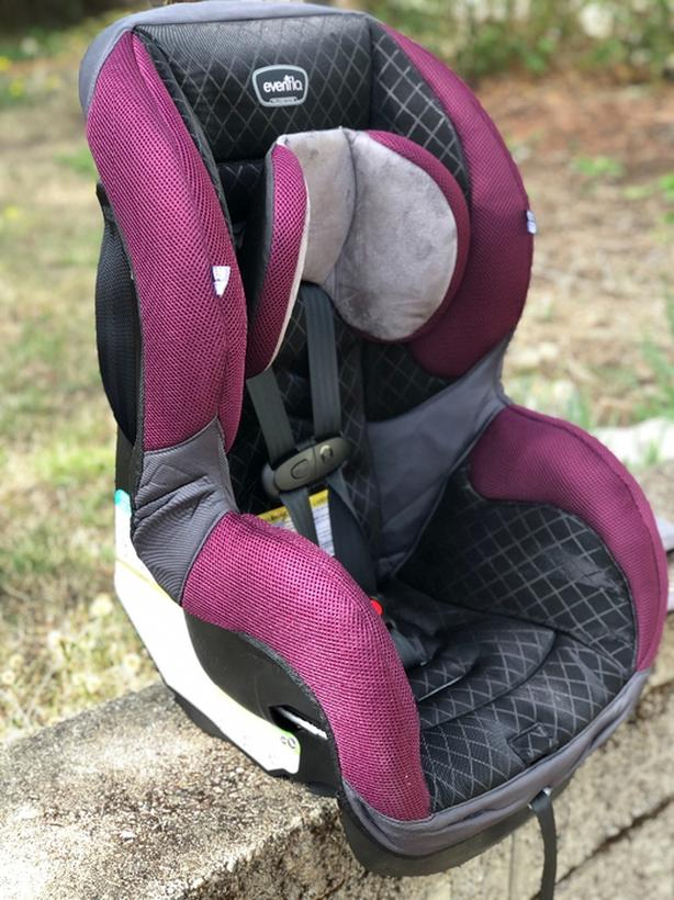 evenflo sureride 65 titan dual facing car seat