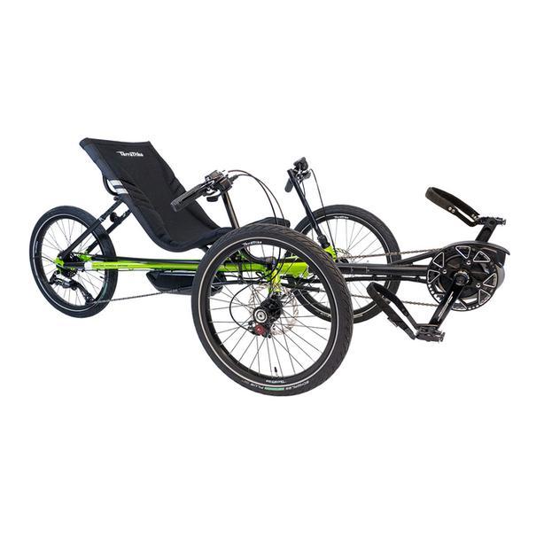 Bosch-powered Terra Trike Rambler EVO Recumbent Trike