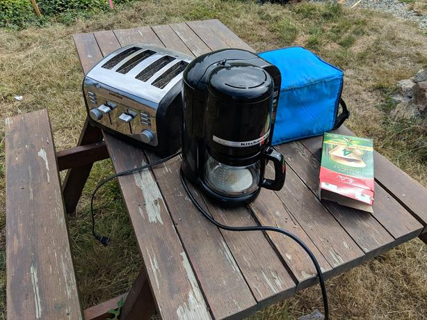 toaster & cooler bag