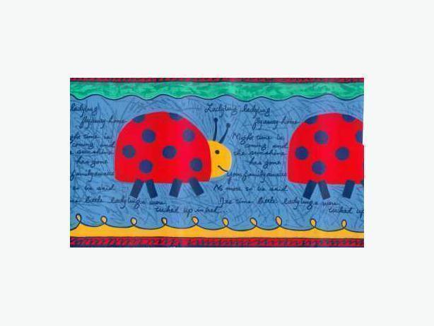 Ladybird Decorative Border