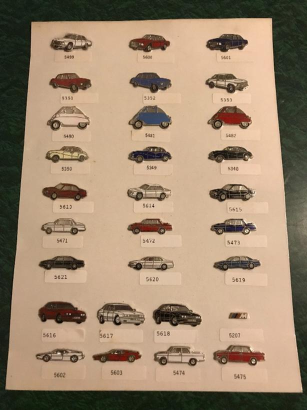 Car collector memorabilia