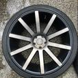 "22"" Dub rims on summers *mint*"