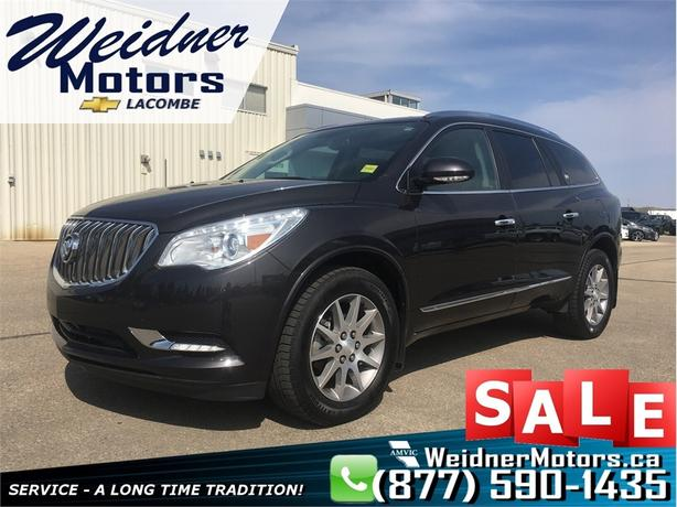 2017 Buick Enclave *Seats 7, Heated Leather*