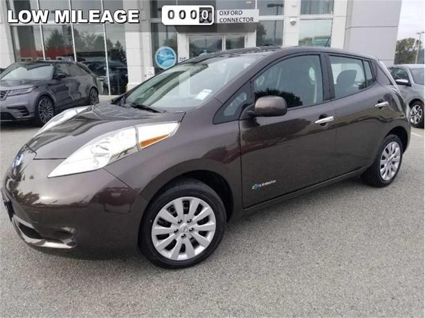 2016 Nissan Leaf S  HEATED SEATS-REAR CAM-ALL ELECTRIC
