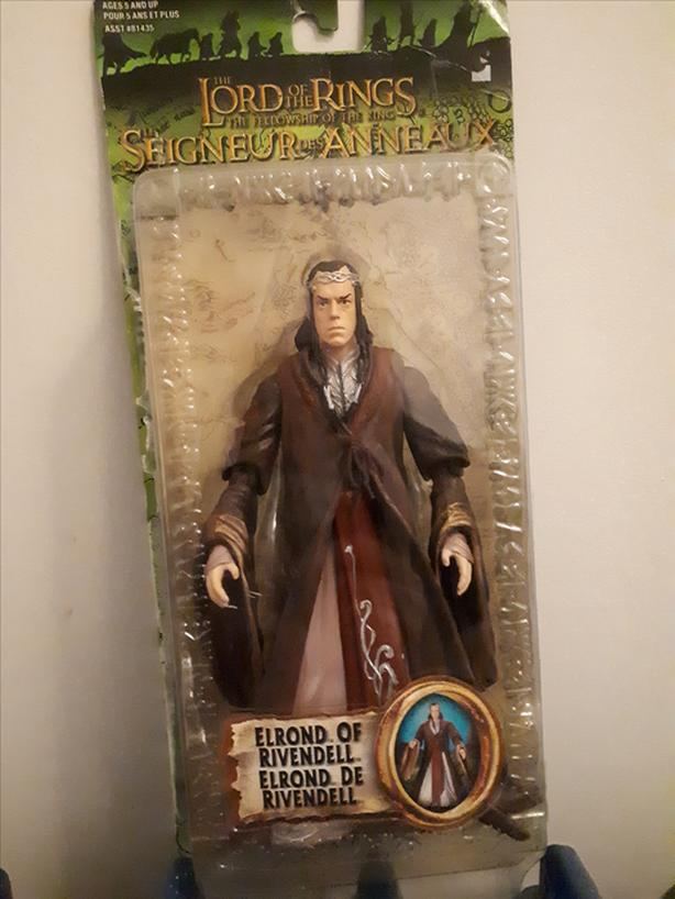 Lord of the Rings Fellowship of the Ring Elrond of Rivendell