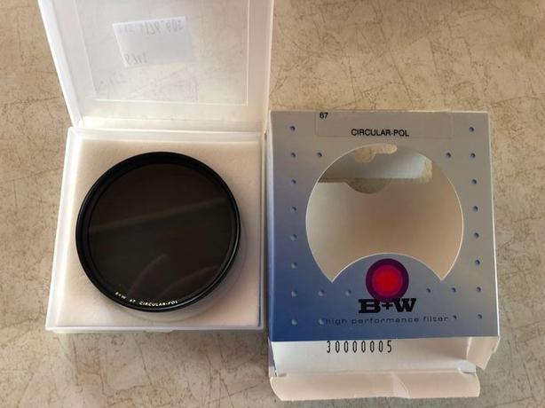 B+W 67mm Circular Polarizing Filter