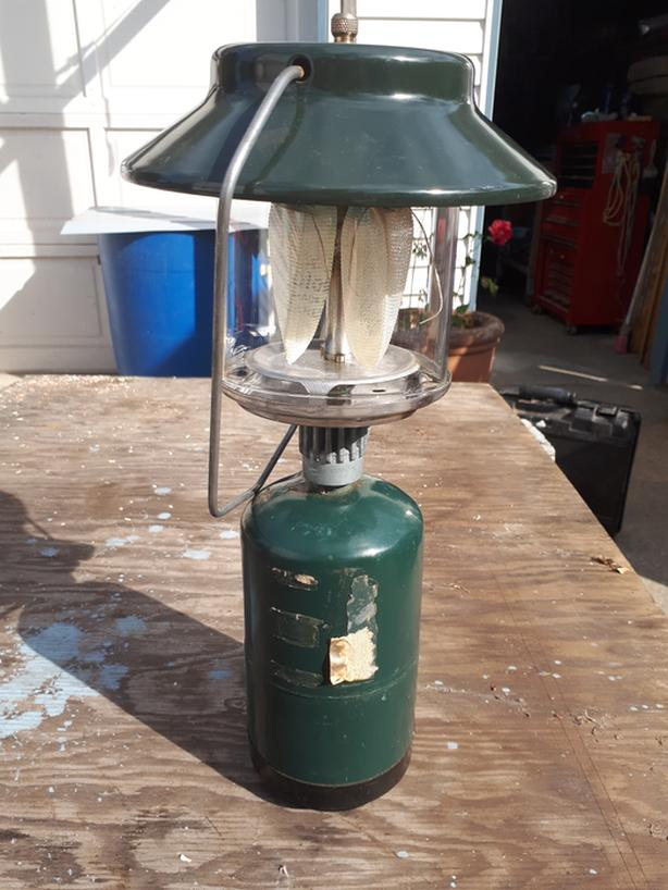  Log In needed $35 · Coleman Propane camping lantern