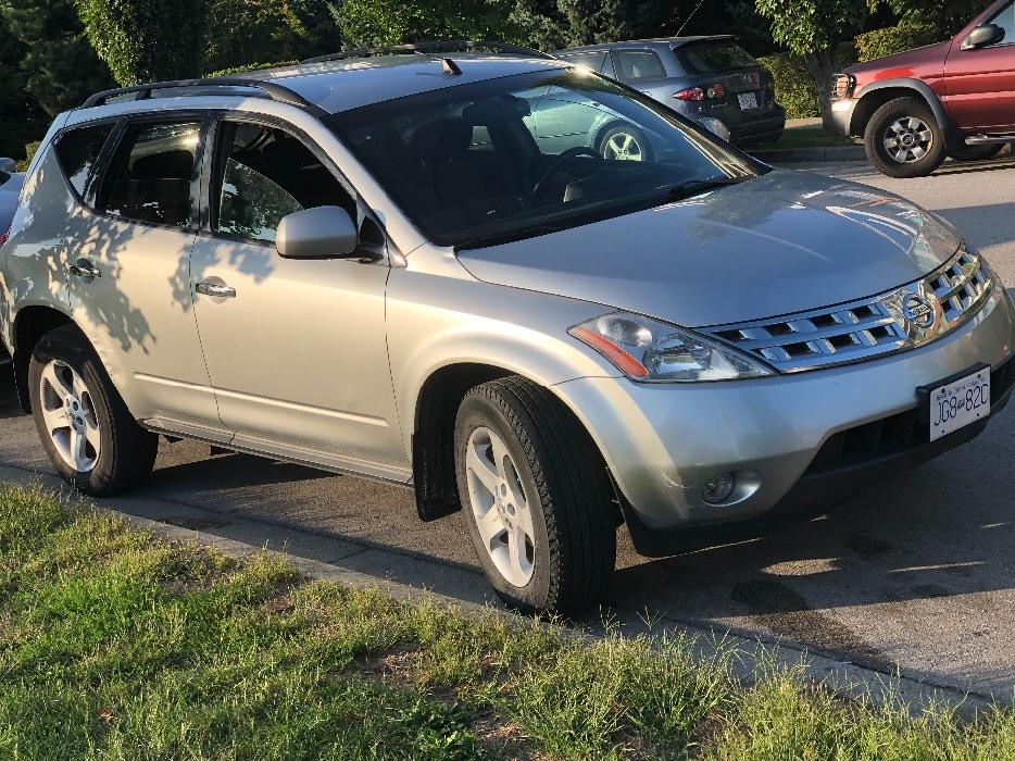 Nissan Campbell River >> 2006 NISSAN MURANO SL AWD 4X4-SUV-$2000 -LIKE NEW -V6-AUTOMATIC-$2000 Burnaby (incl. New ...