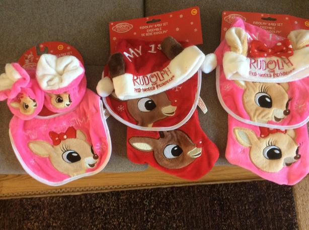 Rudolph bib sets