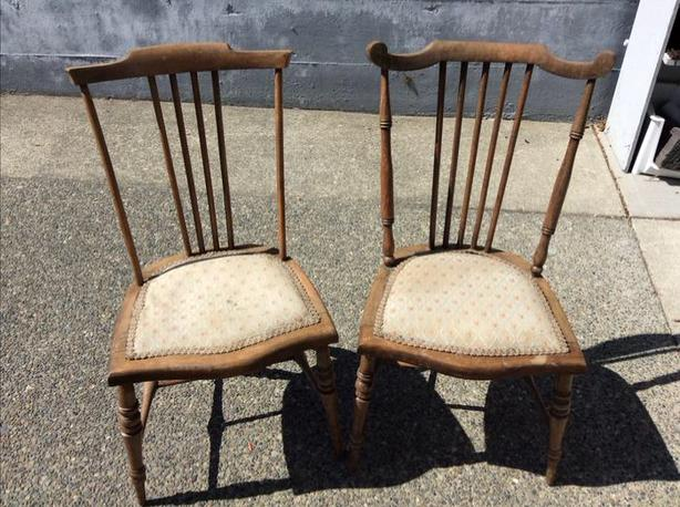 Vintage children's chairs $75 each sold together