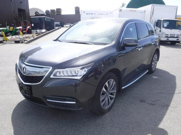 2016 Acura MDX SH-AWD 9 Speed AT with Tech Package 3rd Row Seating