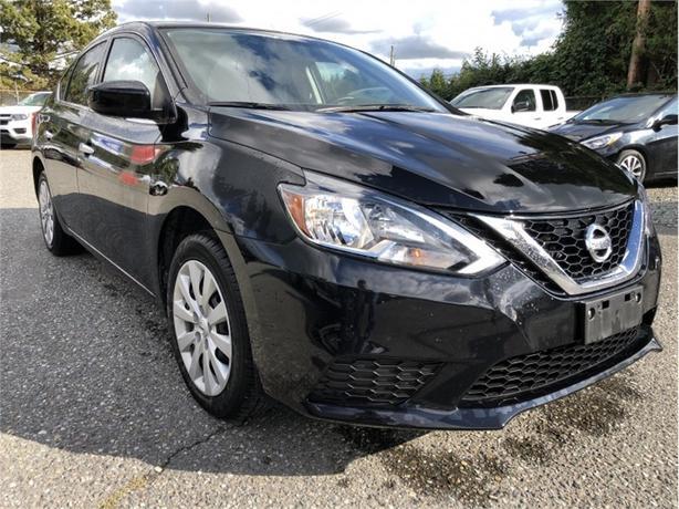 2016 Nissan Sentra S  - $108 B/W