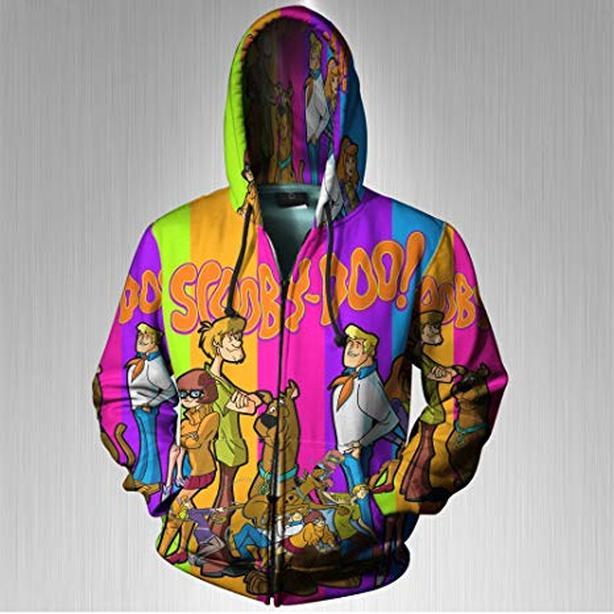 Scooby Doo Hoodie with Zipper 3x