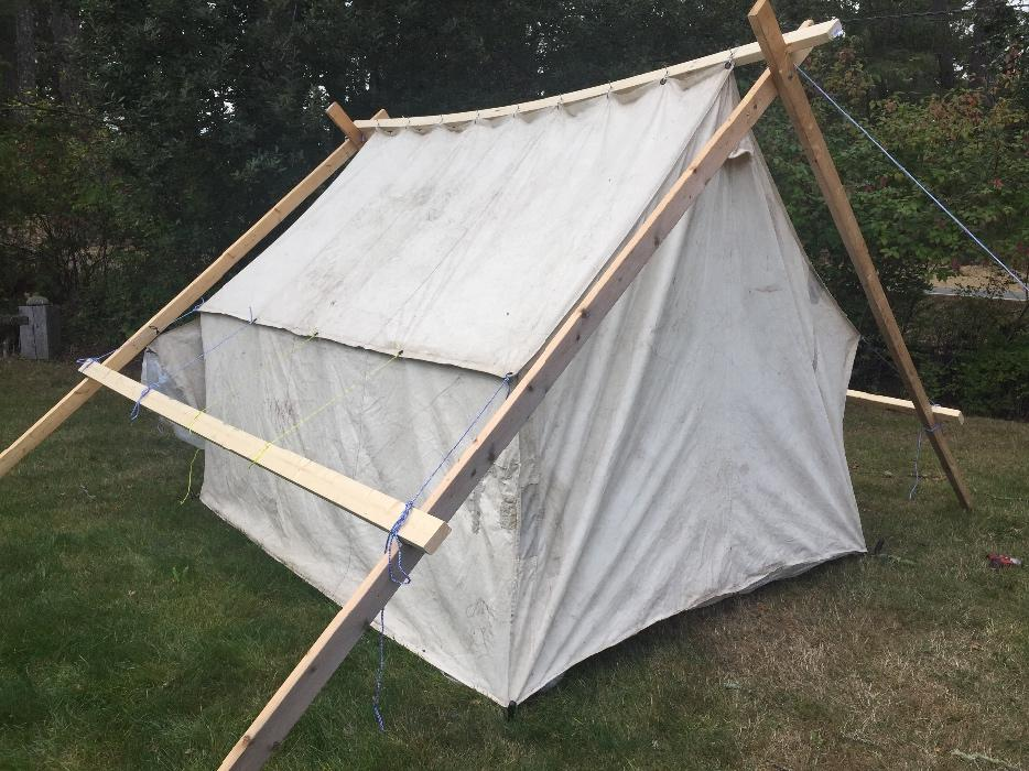 $500 · Wall Tent 8 x 10 Prospector Style