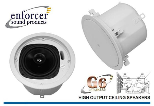 In-ceiling Premium Loudspeakers ~ Enforcer G6