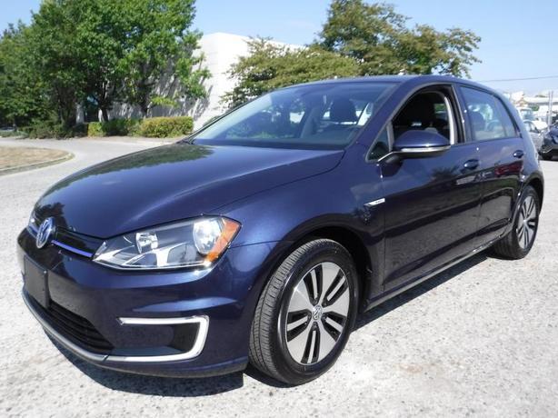 2016 Volkswagen E-Golf SE Electric