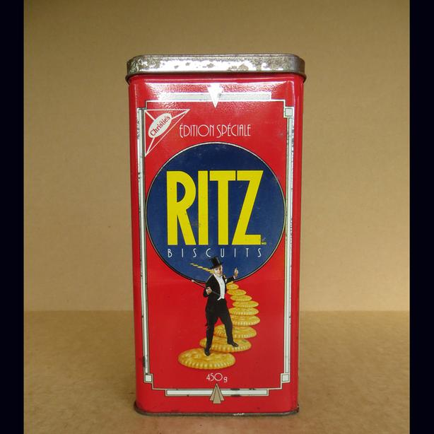 1990 Special Edition Astaire/Rogers Ritz Crackers Tin