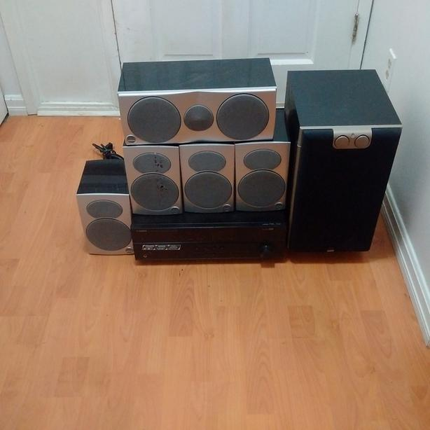 yamaha htr-3063 5.1 channel home theater system