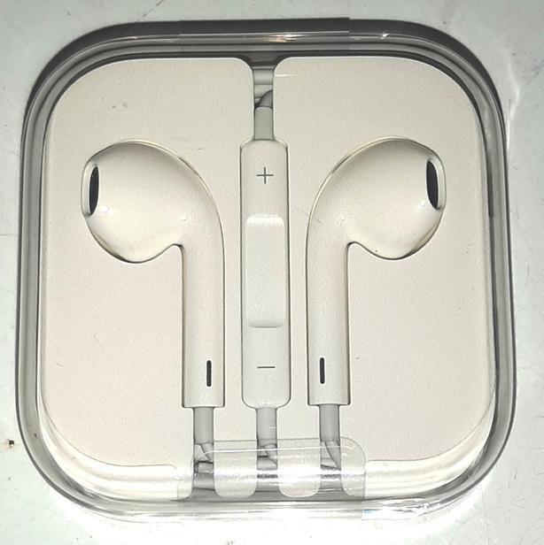 Genuine Never Used Original iPhone Earphones