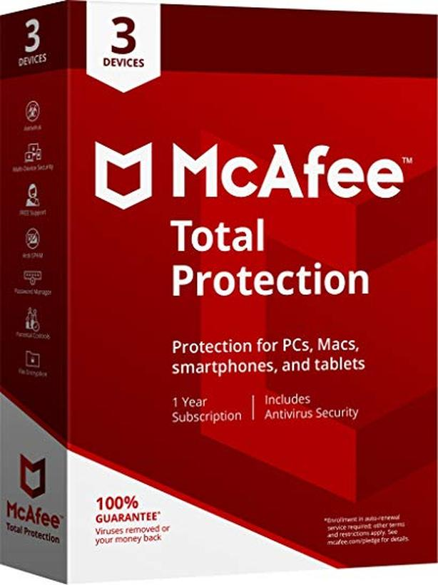 MacFee Total Protection for 3 computers