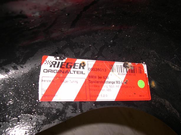 BMW E 30 Rieger Body kit.
