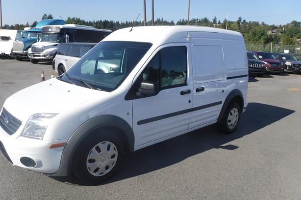 2012 Ford Transit Connect XLT with Rear Door Glass and Rear Shelving