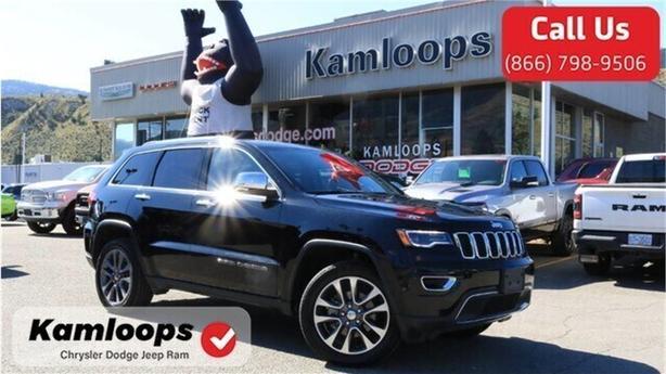2018 Jeep Grand Cherokee Limited /Demonstrator//4x4//Leather//Navi/