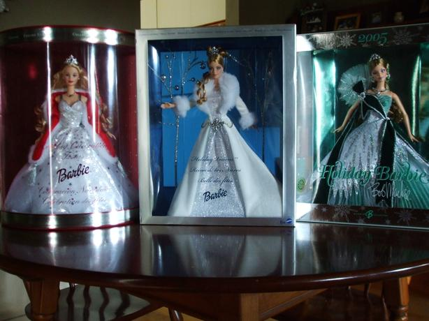BARBIE DOLLS - Never Removed from Box
