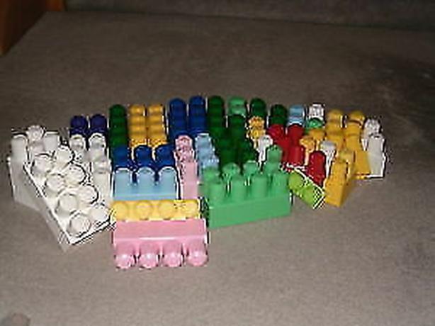 blocks larger Lego plastic mega-larger
