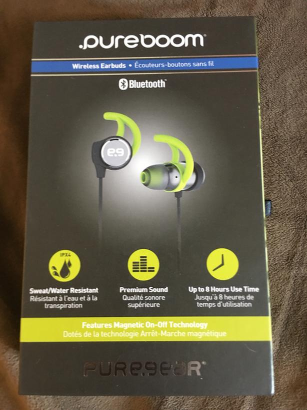 HURRY LAST ONE! BRAND NEW PURE-BOOM BLUETOOTH HIGH QUALITY WIRELESS EARBUDS!