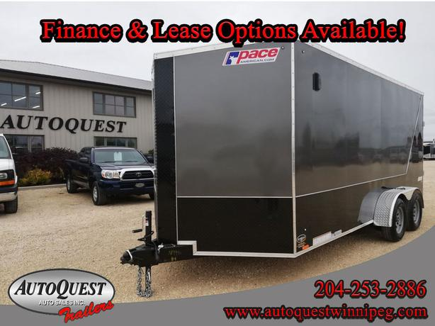 "2020 Pace ' x 16' x 84"" V-Nose Cargo Trailer - 7 000 lbs"