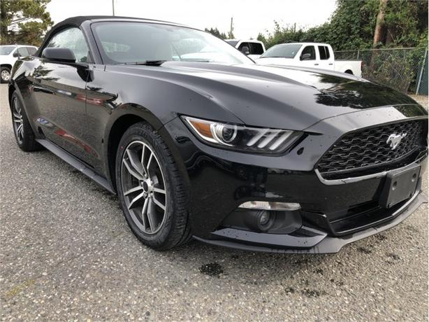 2017 Ford Mustang EcoBoost Premium  - $216 B/W