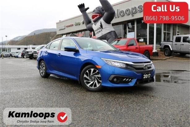 2017 Honda Civic Sedan EX /Bluetooth//LaneDeparture//BackupCam/