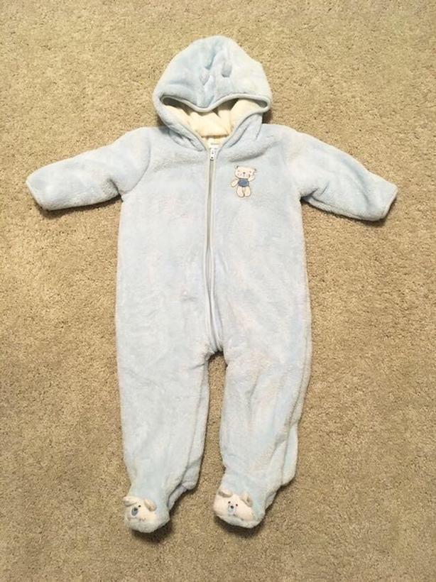 6-9 month bunting suit