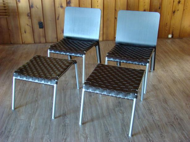 Two Chairs with Ottomans from Scan Design Furniture Co $200 each