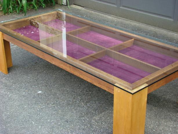 Custom Made Display Coffee Table