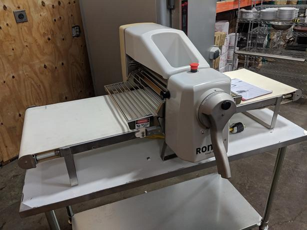 Rondo Bench Pastry Sheeter – Sept 21 Online Only Auction