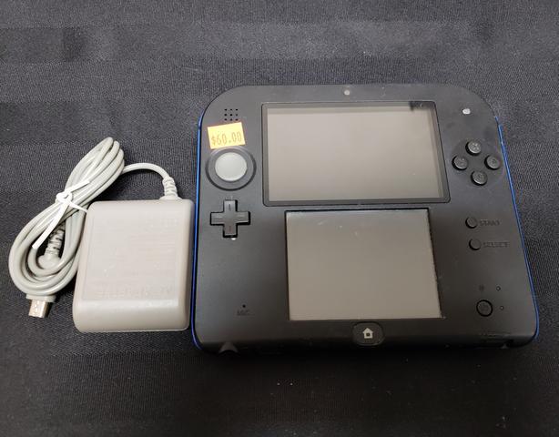 Black & Blue Nintendo 2DS Console